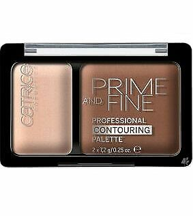 Catrice Prime And Fine Face Contouring Palette Bronzer Highlighter... - 30