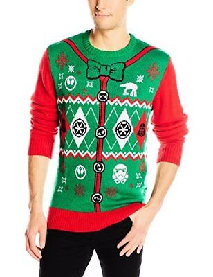 Star Wars Men's Holiday Sweater - Choose SZ/Color