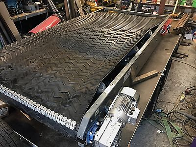 Conveyor belt 800mm wide x 6 meters long NEW Builds Made from stock