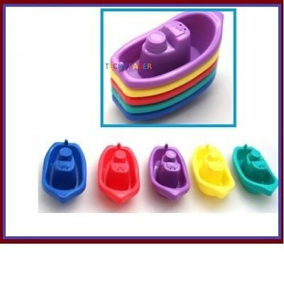 Tech Trader® First Steps Pack of 5 Baby Toddler Bath Tub Play Time Floating Toy