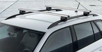 Aluminium Car Roof Bars Rails Racks For Skoda Roomster 2006-2015