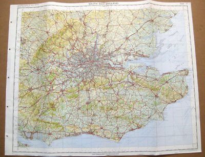 SOUTH EAST ENGLAND Large Ordnance survey Map 1969 Sheet #16