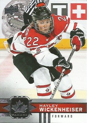 Hayley Wickenheiser #69 - 2017-18   Canadian Tire Team Canada - Base