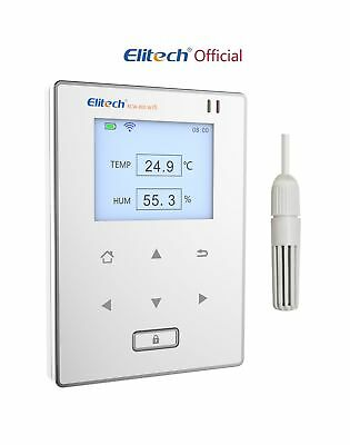Elitech Wifi Temperature and Humidity Data Logger Intelligent Remote Monitor ...