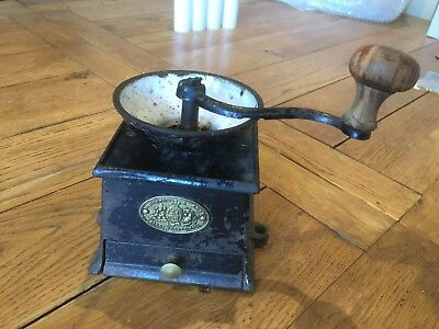 Vintage Kenrick Coffee Mill Grinder