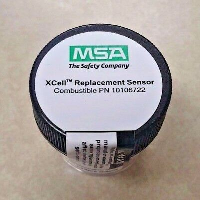 Msa Altair 4X And 5X, Xcell Replacement Sensor Combustible, 10106722 Free Ship!