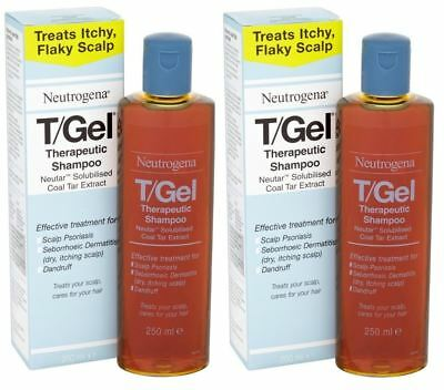 Neutrogena T/Gel Therapeutic Shampoo - 250ml (Pack of 2)