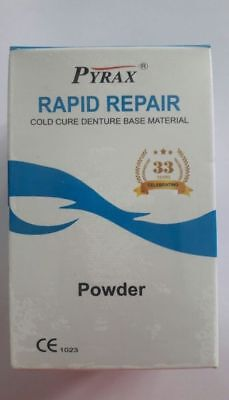Cold Cure Fine Powder, Denture Acrylic Powder (110 grams) - PINK/ CLEAR/ VEINED