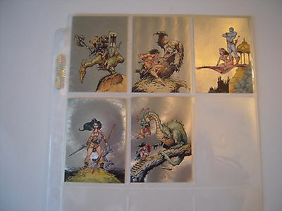 Mike Ploog  Metalic Subset   Complet  Ms1 A Ms5  1994