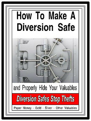 How To Make A Diversion Safe - eBook - Properly Hide Your Valuables