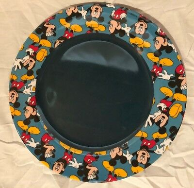 Disney Vintage Mickey Mouse Plastic Dinner Plate ZAK Designs & DISNEY VINTAGE MICKEY Mouse Plastic Dinner Plate ZAK Designs ...