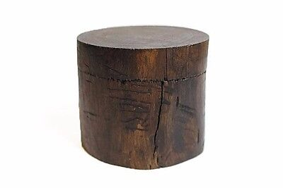 Small Wooden Log Box Natural Wooden Tree Trunk Container Rustic Jewelry Holder