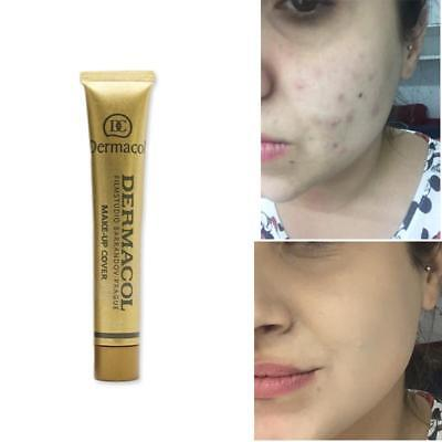 FAMOUS DERMACOL MAKE-UP COVER, SPF30, HIGH COVERAGE, first class delivery