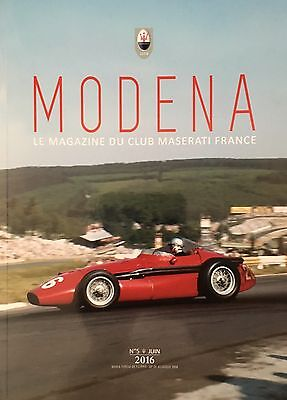 Magazine Modena Club Maserati France N 5 Juin 2016
