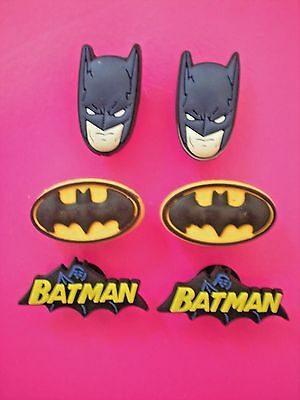 Jibbitz Croc Clog Shoe Charms Plug Button Bracelet Belt BatMan Holey Accessories