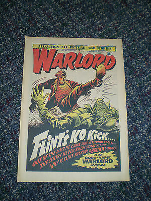Vintage Warlord Comic no 67 3rd January 1976 mens birthday Xmas gift idea