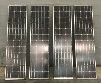 Siemens PhotoVaultic Module Solar Panels Qty. 4