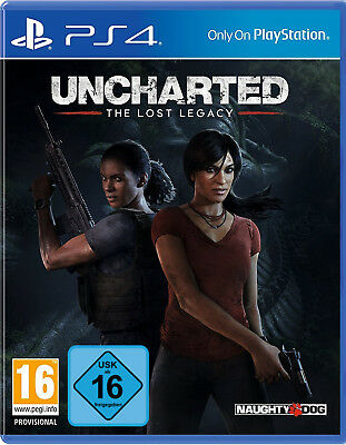 PS4 Uncharted: The Lost Legacy NEU&OVP Playstation 4