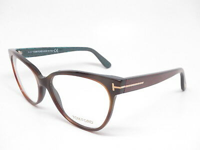 a5cb93de2a New Authentic Tom Ford TF 5291 052 Dark Havana Eyewear Eyeglasses 55mm  Rx-able