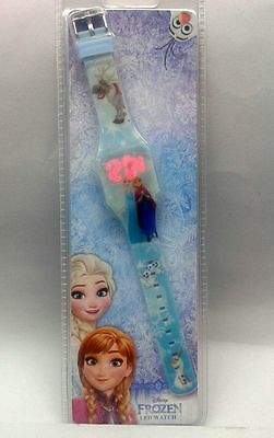 FROZEN DISNEY orologio da polso bambina digitale luminoso con led