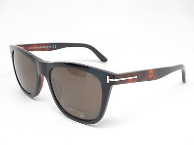 8f53a9464fb New Authentic Tom Ford TF 500 (Andrew) 05J Black Brown with Roviex  Sunglasses