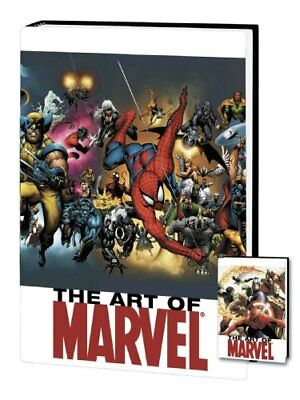 ART OF MARVEL COMICS VOLUME 2 HC (MARVEL HEROES) By Various - Hardcover **NEW**