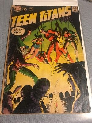 Teen Titans #19 (Jan-Feb 1969, DC)