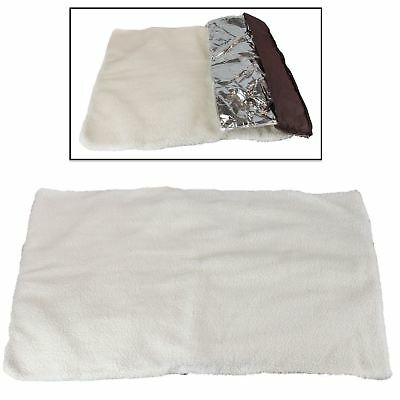 Self Heated Heating Thermal Pet Bed Super Warm Washable Mat Dog Cat Cushion Rug