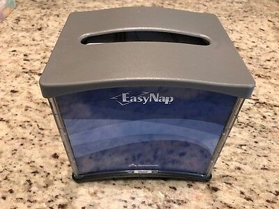 "Easynap Dixie Foods Tabletop Napkin Dispenser - Tall Fold - 6.6"" X 5.9"" X 7.5"" -"