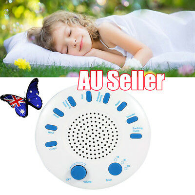 Christmas Gift Relax Machine Deep Sleep Solution Nature Peace Therapy 9 Sound EF