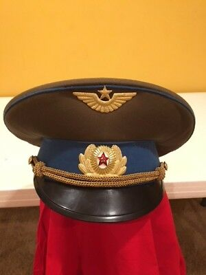 37 Vintage Ussr/Russian Military Officer And Enlisted Service Hats. Bulk Sale