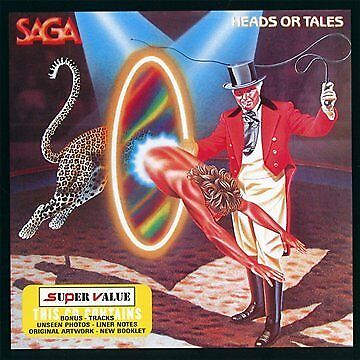 SAGA - Heads Or Tales - CD - **BRAND NEW/STILL SEALED**