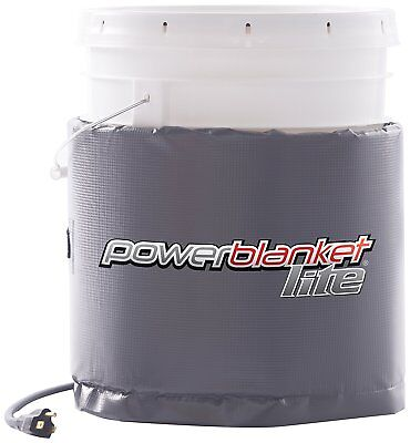 Powerblanket Lite PBL05 Insulated Pail Heater Bucket Heater (5 Gal / 19 L)