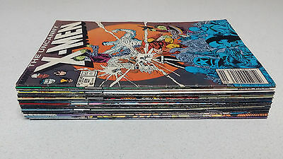 Uncanny X-Men 17 Issue Lot (Marvel Comics)