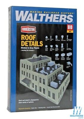 Walthers ROOF DETAIL KIT  - HO Model Trains