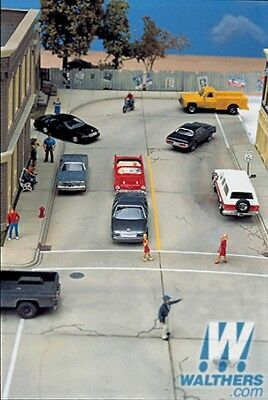 Walthers Concrete Street System **Complete Set** - HO Model Trains