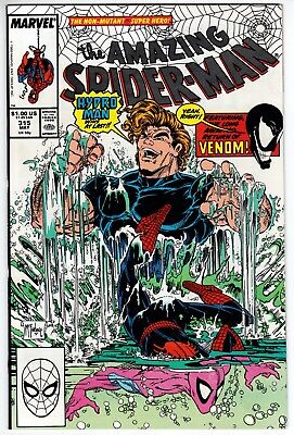 Amazing Spider-Man #315 NM- 9.2 Todd McFarlane Art Hydro-Man Venom!