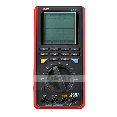 UNI-T UT81B Handheld LCD Digital Scopemeter Oscilloscope Multimeter