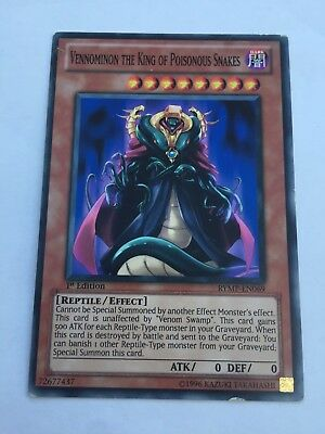 3x Vennominon the King of Poisonous Snakes Common 1st Edition RYMP-EN069