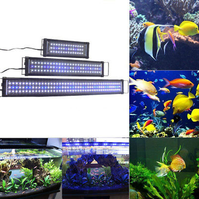 30-120CM Aquarium LED Lighting 1ft/2ft/3ft/4ft Marine Aqua Fish Tank Light AU