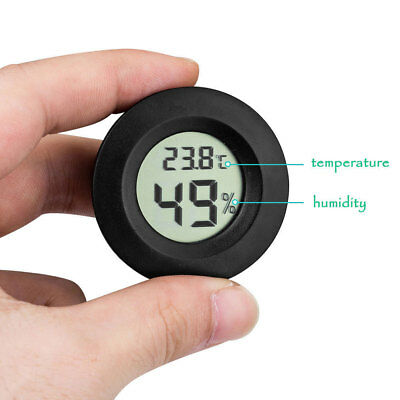Thermometer Humidity Meter Device Household Durable