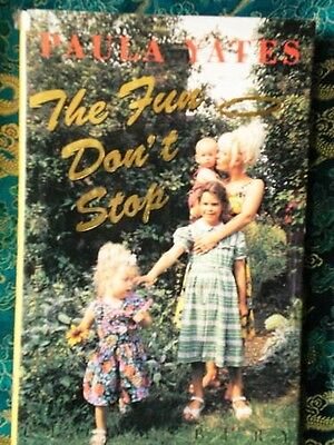 MINT THE FUN DON'T STOP  by Paula Yates activities book picture Peaches Geldof