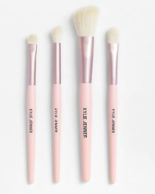 4 pcs Rose Gold Make up Eye Brushes Kylie Jenner - New Christmas Gift