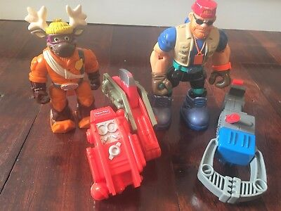 RESCUE HEROES TELLY PHOTO Planet Protectors RIDGE MOUNTAIN Toys ELC