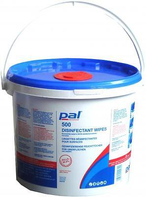 Pal Large Surface Disinfectant Wipes 500 sheets