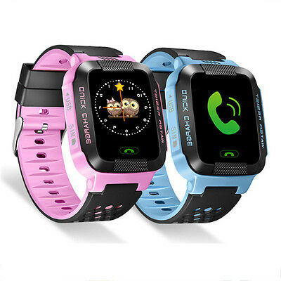 Flashlight GPS Tracker Smart Kids Child Watch Anti-lost SOS Call For Android/iOS