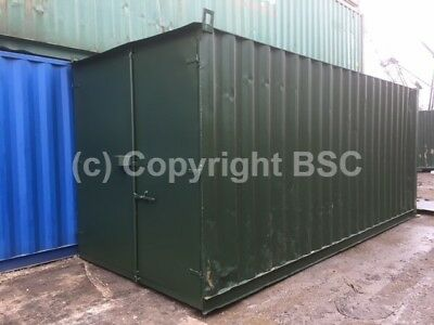 Refurbished 20ft shipping containers in London
