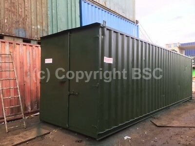 Refurbished 30ft shipping containers in London