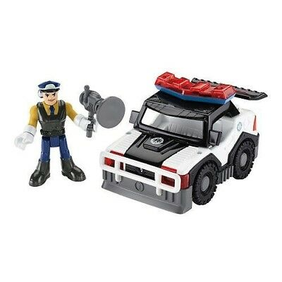 Fisher-Price Rescue Heroes - Sergeant Siren & Police Car by Imaginext