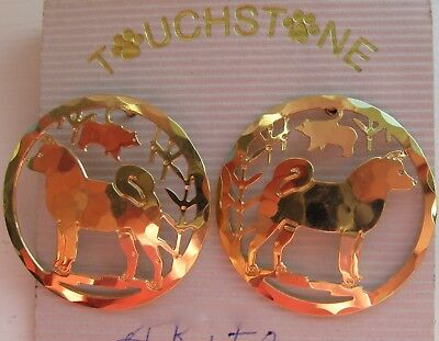 Touchstone Jewelry, Earrings for the Akita Lover